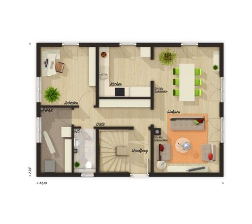 Bodensee 129 Süd Trend Floorplan 1