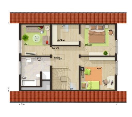 Bodensee 129 Süd Trend Floorplan 2