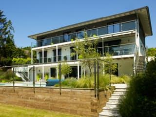 Bond - Kundenhaus von Baufritz Außenansicht 1