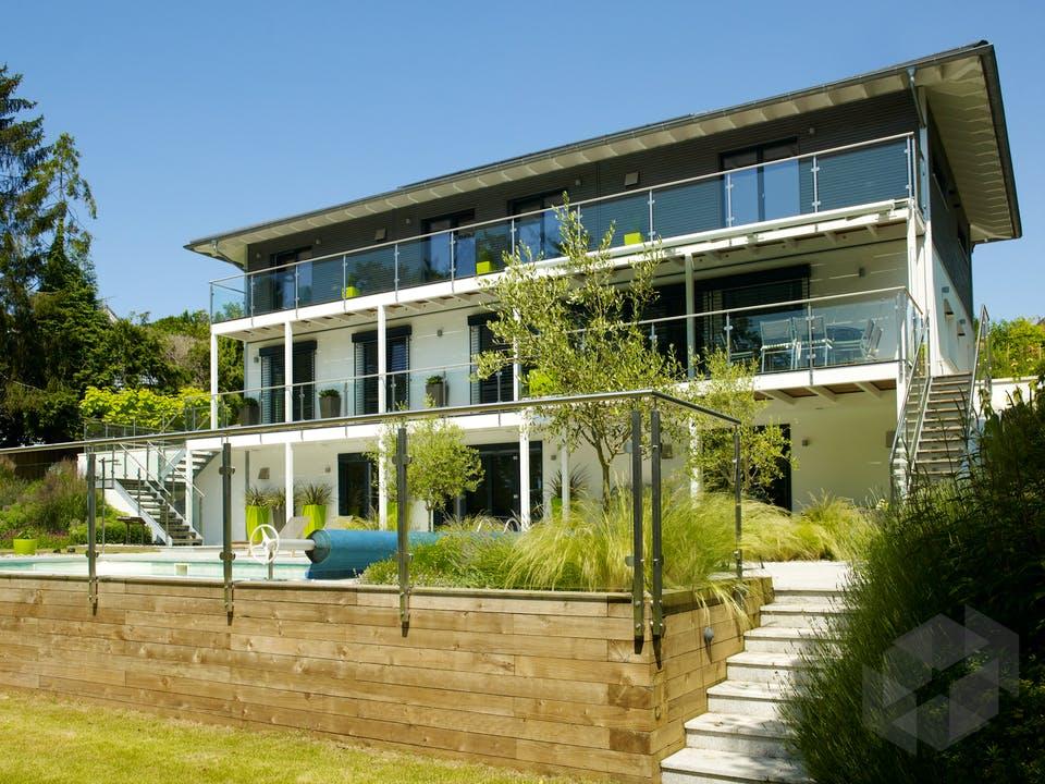 Bond - Kundenhaus von Baufritz Außenansicht