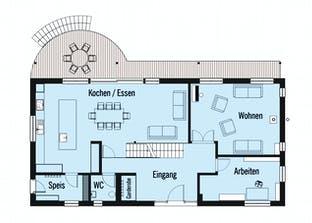 Bond - Kundenhaus Grundriss