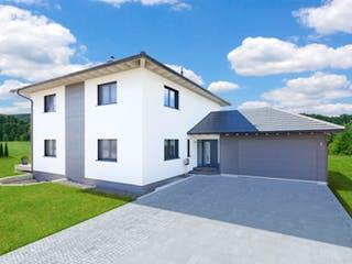 Bongart - Kundenhaus von Baufritz Außenansicht 1