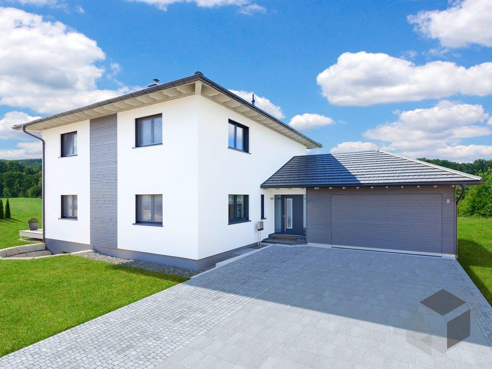Bongart - Kundenhaus von Baufritz Außenansicht