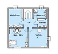 Bongart - Kundenhaus Grundriss
