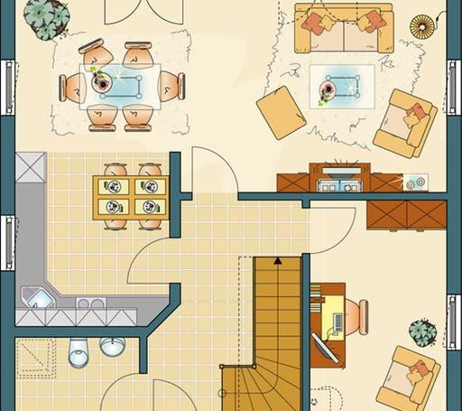 Bravur 130 Floorplan 1