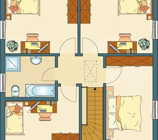 Bravur 130 Floorplan 2
