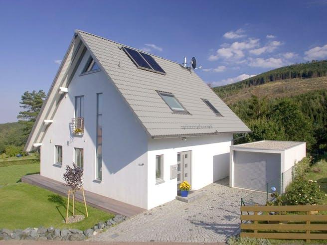 Britta (KfW-Effizienzhaus 40) von Dammann-Haus Außenansicht 1