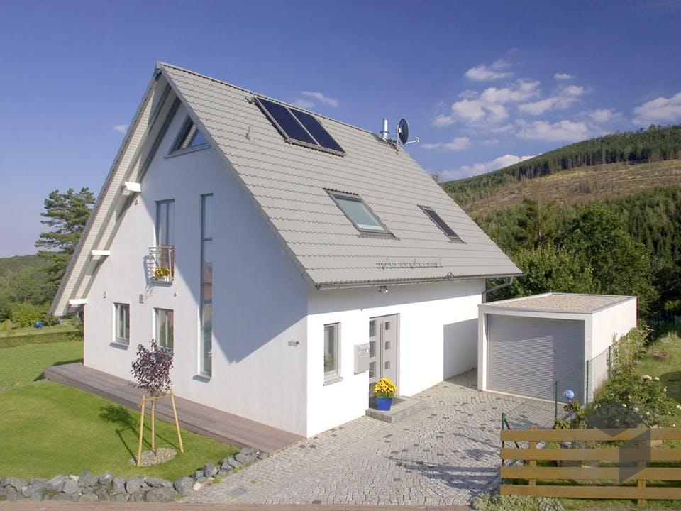 Britta (KfW-Effizienzhaus 40) von Dammann-Haus Außenansicht