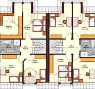 Doppelhaus 144 (inactive) Grundriss