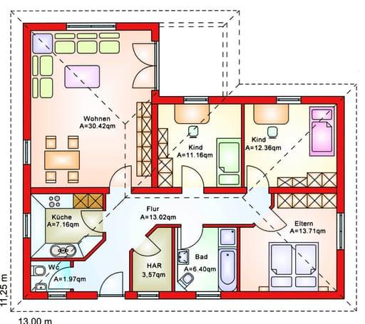 BS 100 Winkelbungalow floor_plans 0