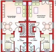 BS 103 Doppelhaushälfte (inactive) Grundriss