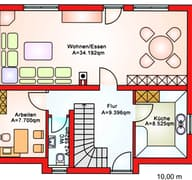 BS 107 Einfam.-Haus Grundriss
