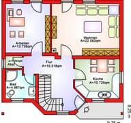 BS 112 Einfam.-Haus Grundriss