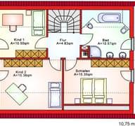 BS 125 Einfam.-Haus Grundriss