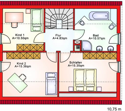 BS 125 Einfam.-Haus floor_plans 0