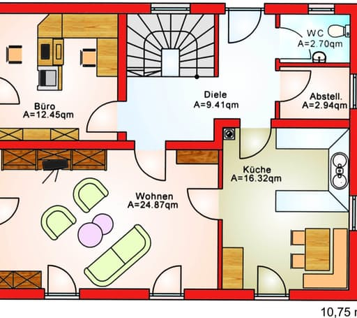 BS 125 Einfam.-Haus floor_plans 1