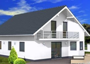 BS 134 Einfam.-Haus mit Erker und Balkon