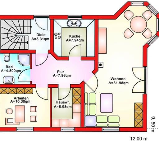 BS 134 Einfam.-Haus mit Erker und Balkon floor_plans 1