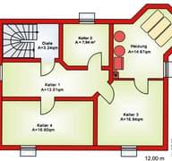 BS 134 Einfam.-Haus mit Erker und Balkon Grundriss