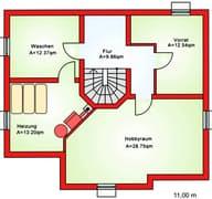 BS 142 Einfam.-Haus inkl. Wiederkehr Grundriss
