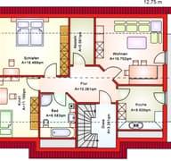 BS 181 Zweifam.-Haus Grundriss