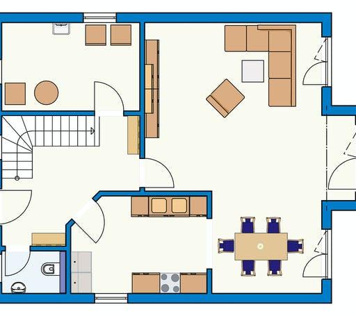 Bodenseehaus Mammern Floorplan 1