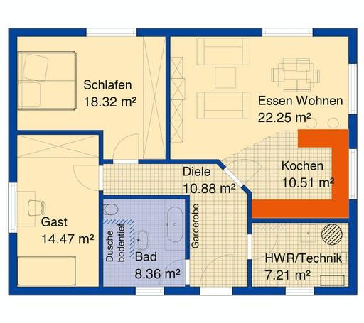Bodenseehaus Mauren Floorplan 1