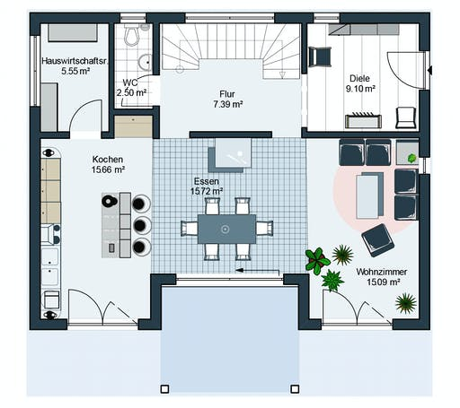 Bodenseehaus Suhr Floorplan 1