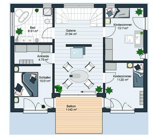 Bodenseehaus Suhr Floorplan 2