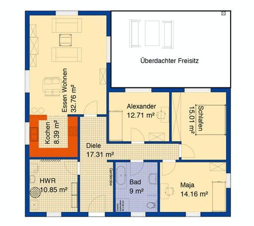 Bodenseehaus Triesen Floorplan 1