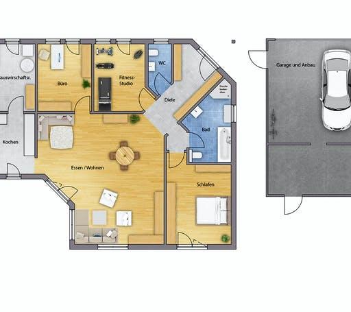 Bodenseehaus Vaduz Floorplan 1