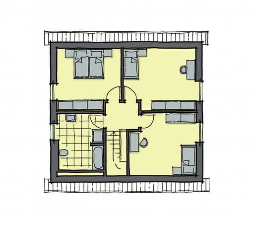 Gussek Haus - Buchenallee Var. 1 DG