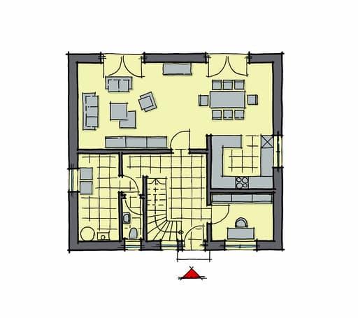 Gussek Haus - Buchenallee Var. 1 EG