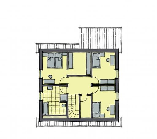 Gussek Haus - Buchenallee Var. 2 DG