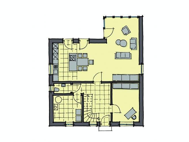 Gussek Haus - Buchenallee Var. 2 EG