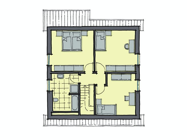 Gussek Haus - Buchenallee Var. 3 DG
