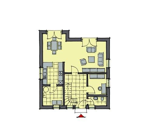 Gussek Haus - Buchenallee Var. 3 EG