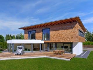 Bullinger - Kundenhaus von Baufritz Außenansicht 1