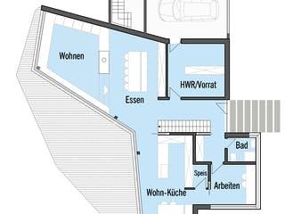 Bullinger - Kundenhaus von Baufritz Grundriss 1