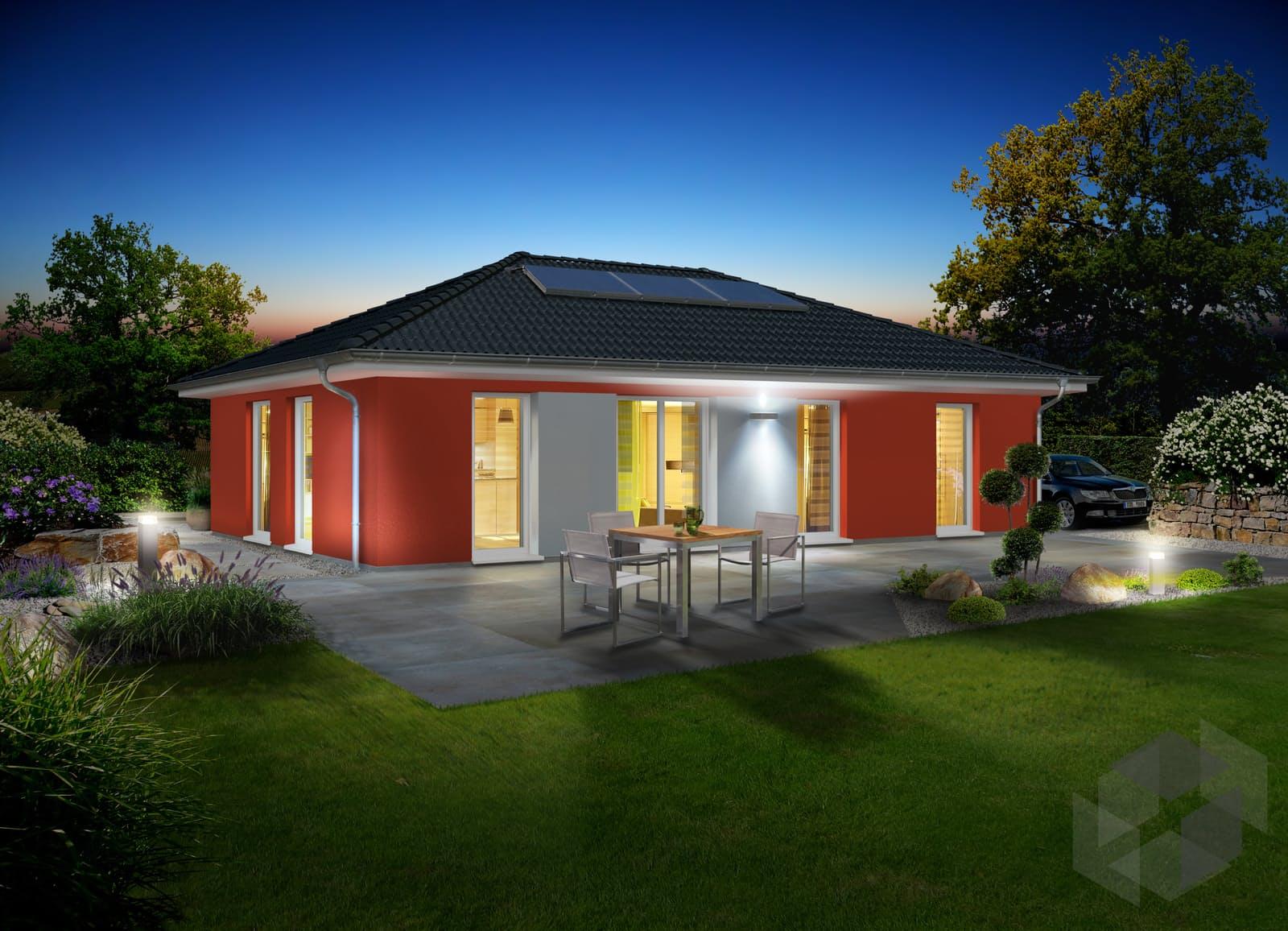 bungalow 110 von town country haus komplette daten bersicht. Black Bedroom Furniture Sets. Home Design Ideas