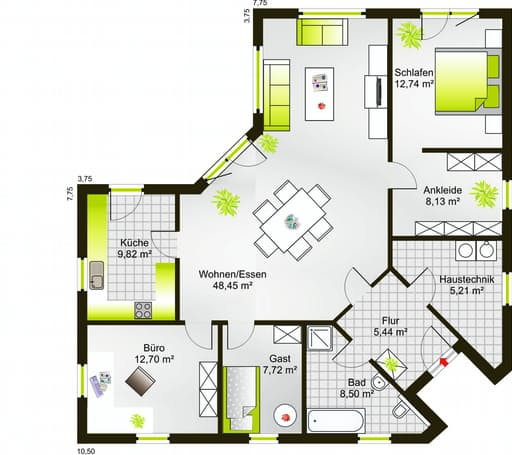 Bungalow 117 WD floor_plans 0