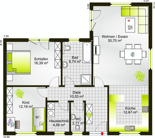 Bungalow 99 WD floor_plans 0