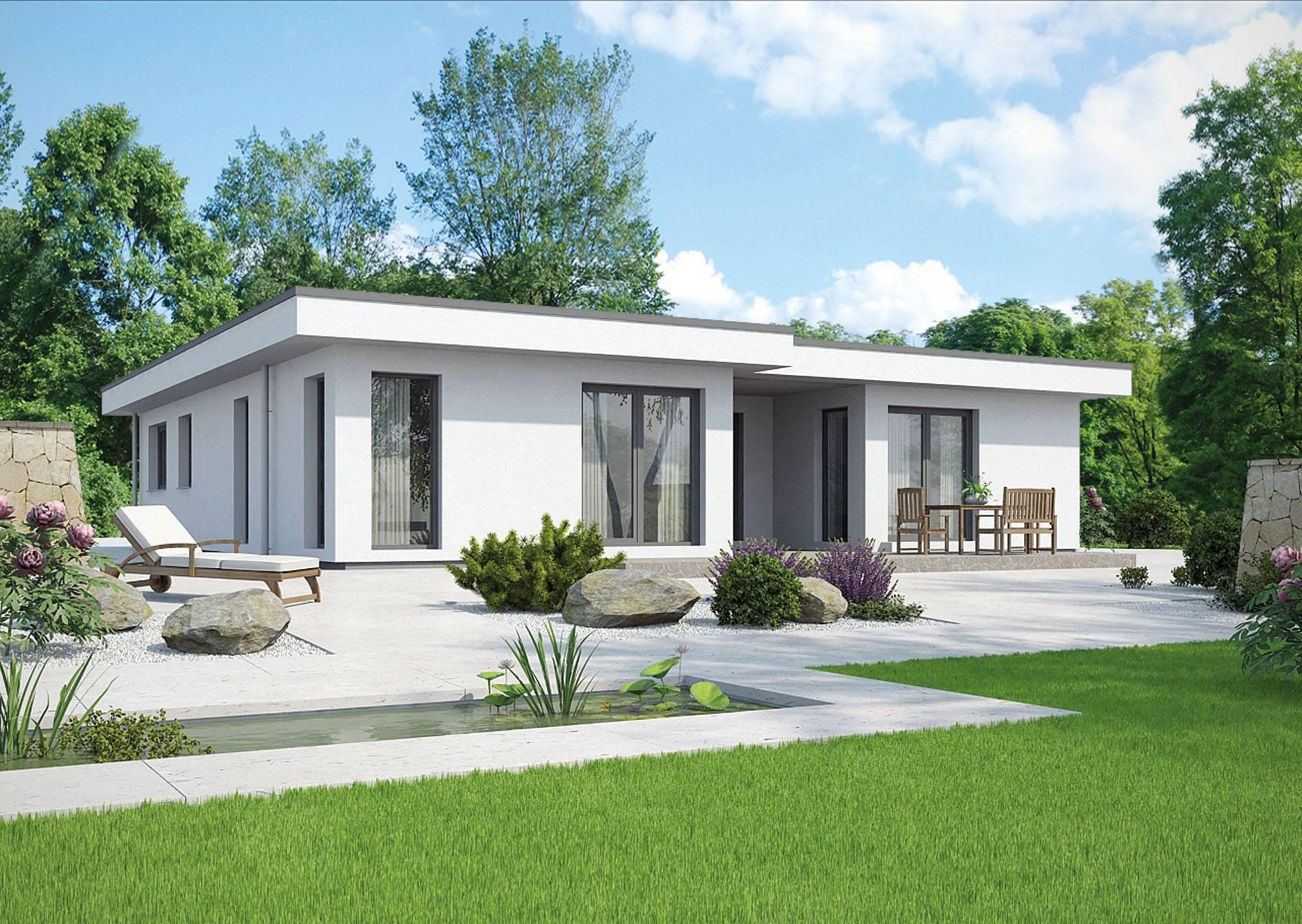 Haus Modern Flachdach