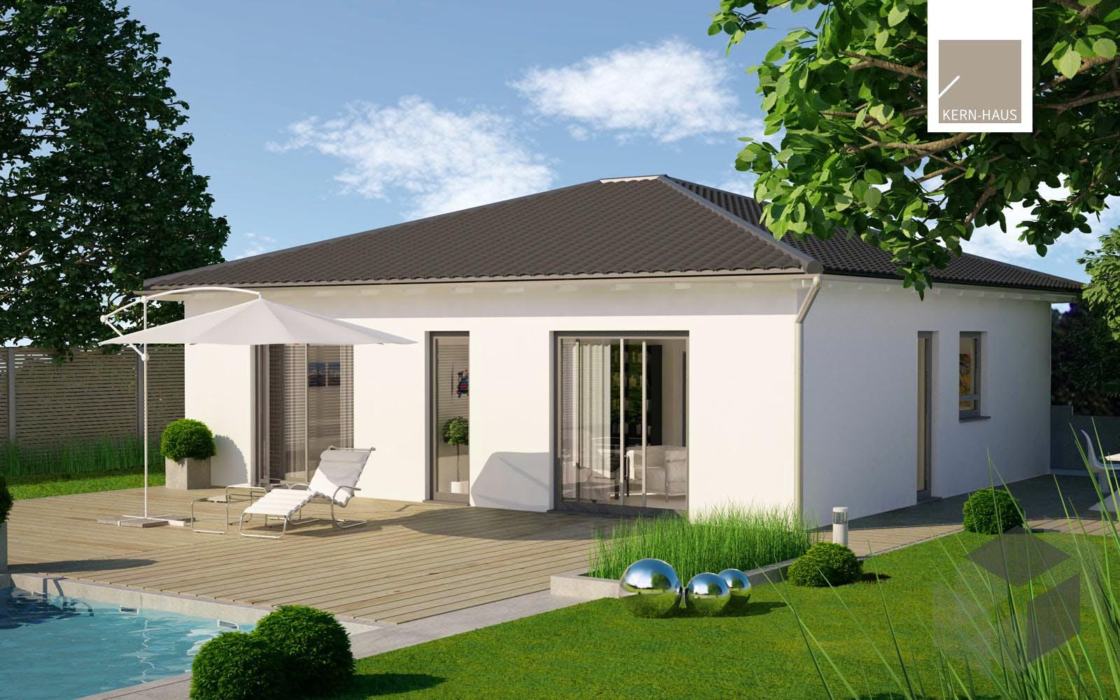 bungalow easy von kern haus komplette daten bersicht. Black Bedroom Furniture Sets. Home Design Ideas