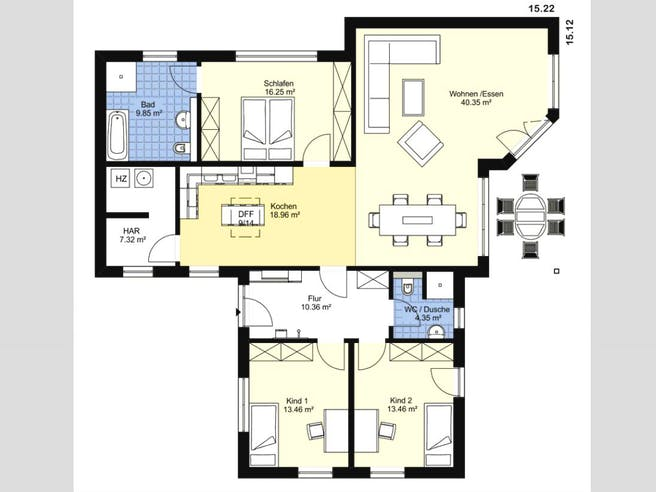 Bungalow Eichwalde floor_plans 0