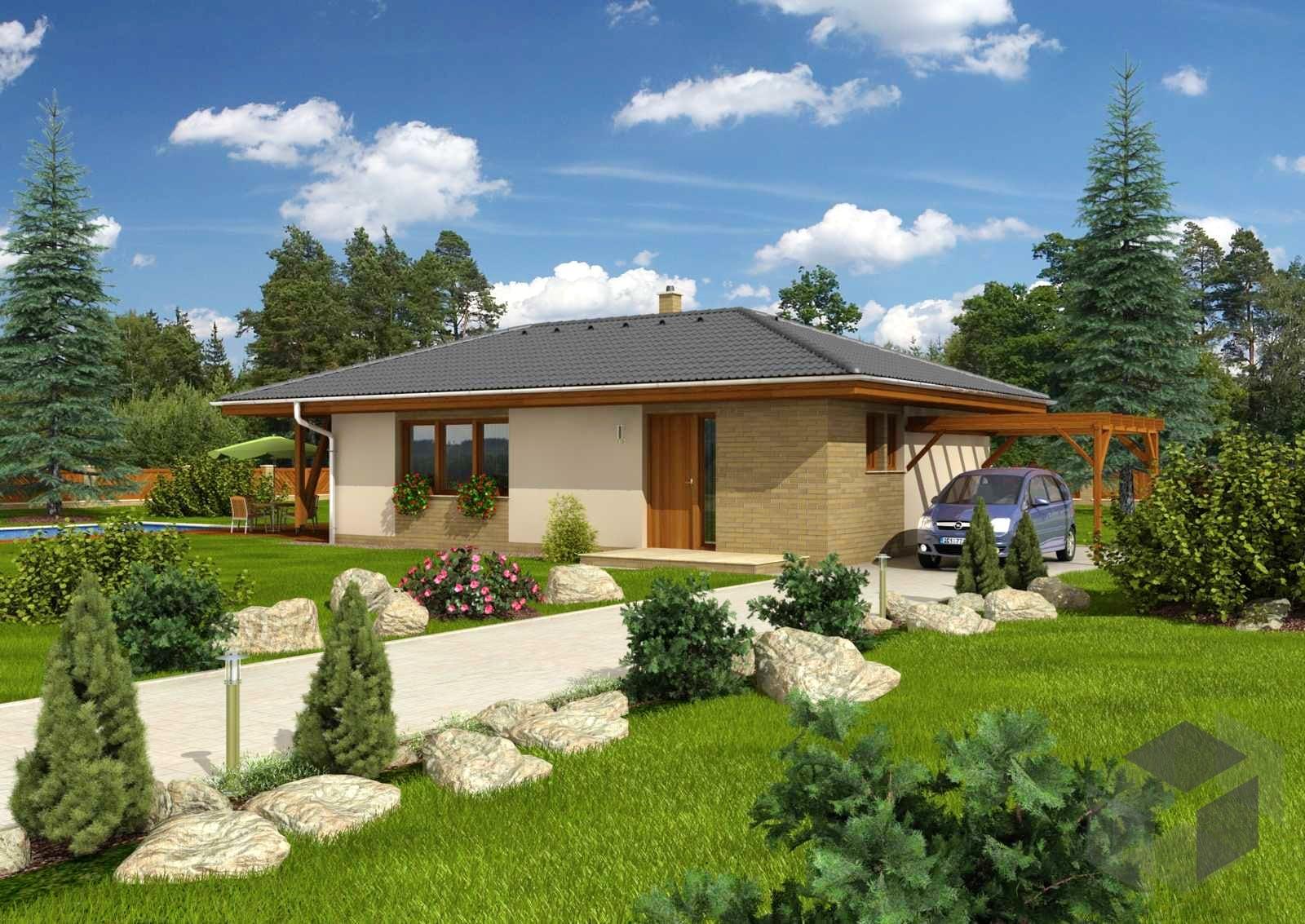 Bungalow mallorca inactive von cmf creativ massiv for Massiv fertighaus bungalow