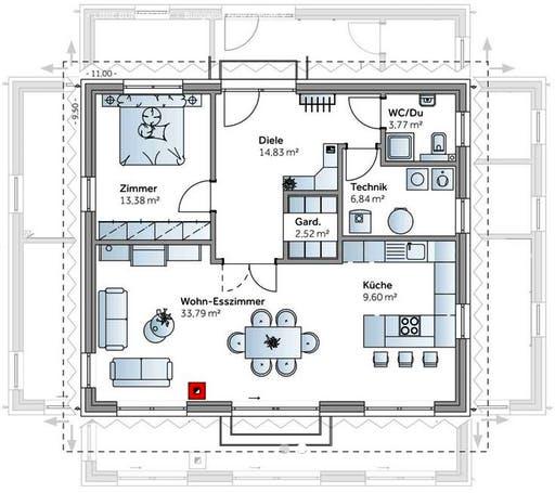 Bungalow New Design V Floorplan 1