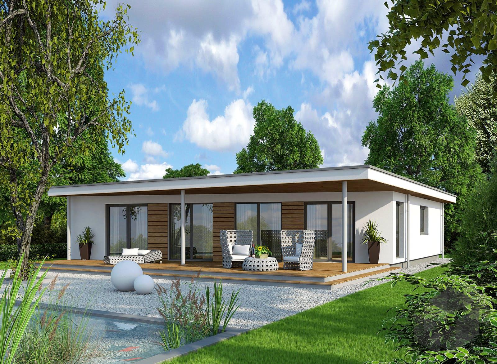 Einfamilienhaus Bungalow S117 Von Vario-Haus