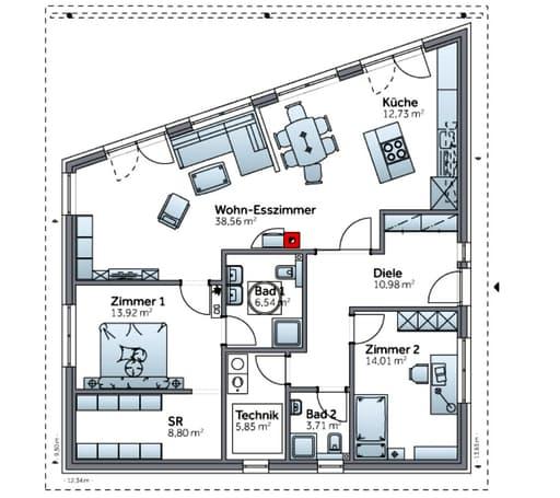 Bungalow S117 floor_plans 0