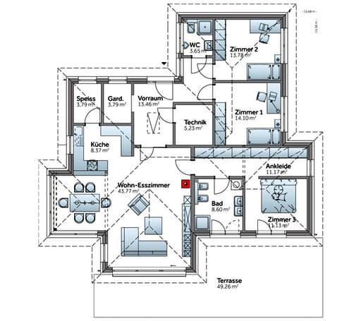 Bungalow S141 floor_plans 0